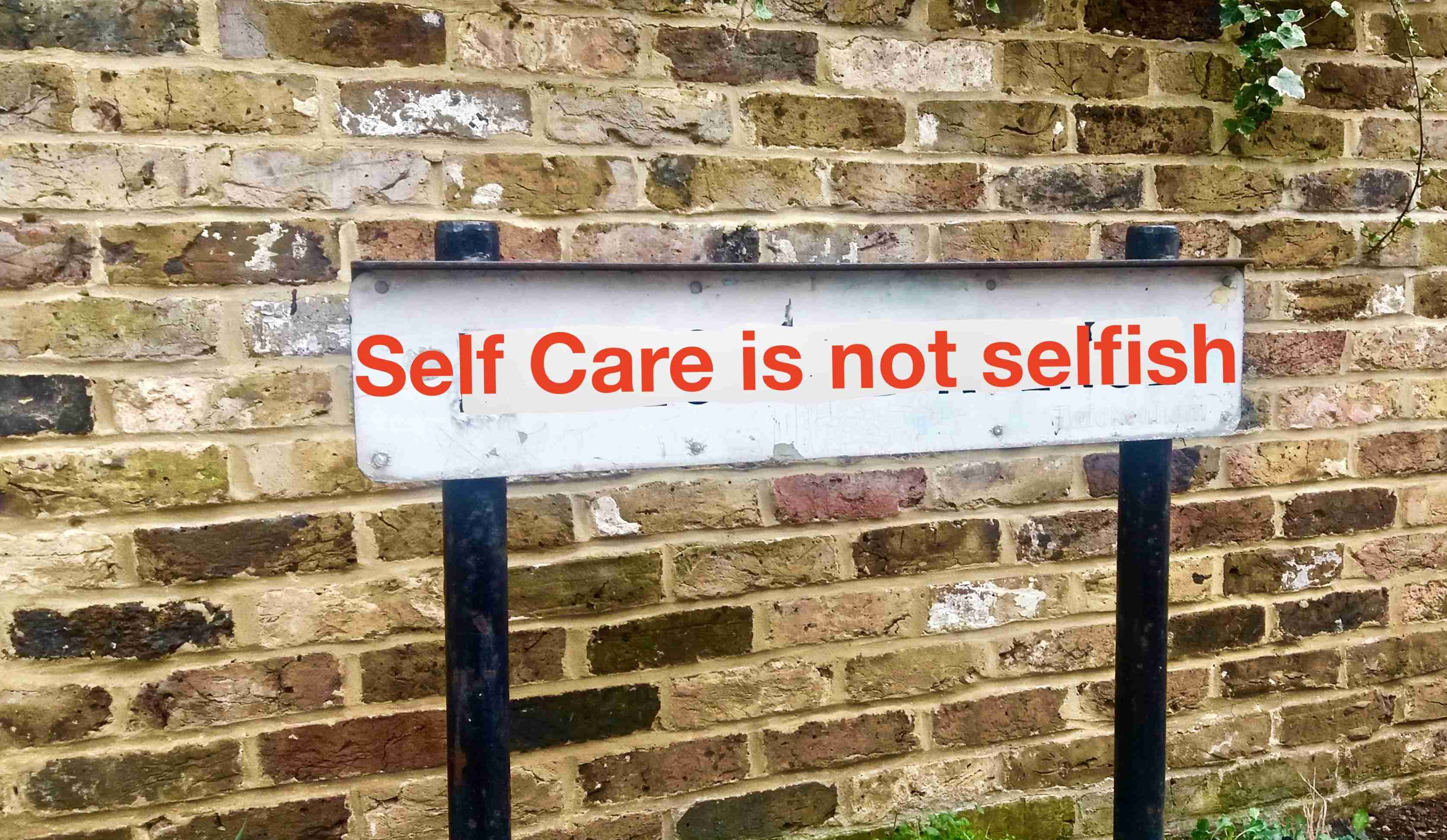 Self care is not selfish but essential (c) KarinSieger.com