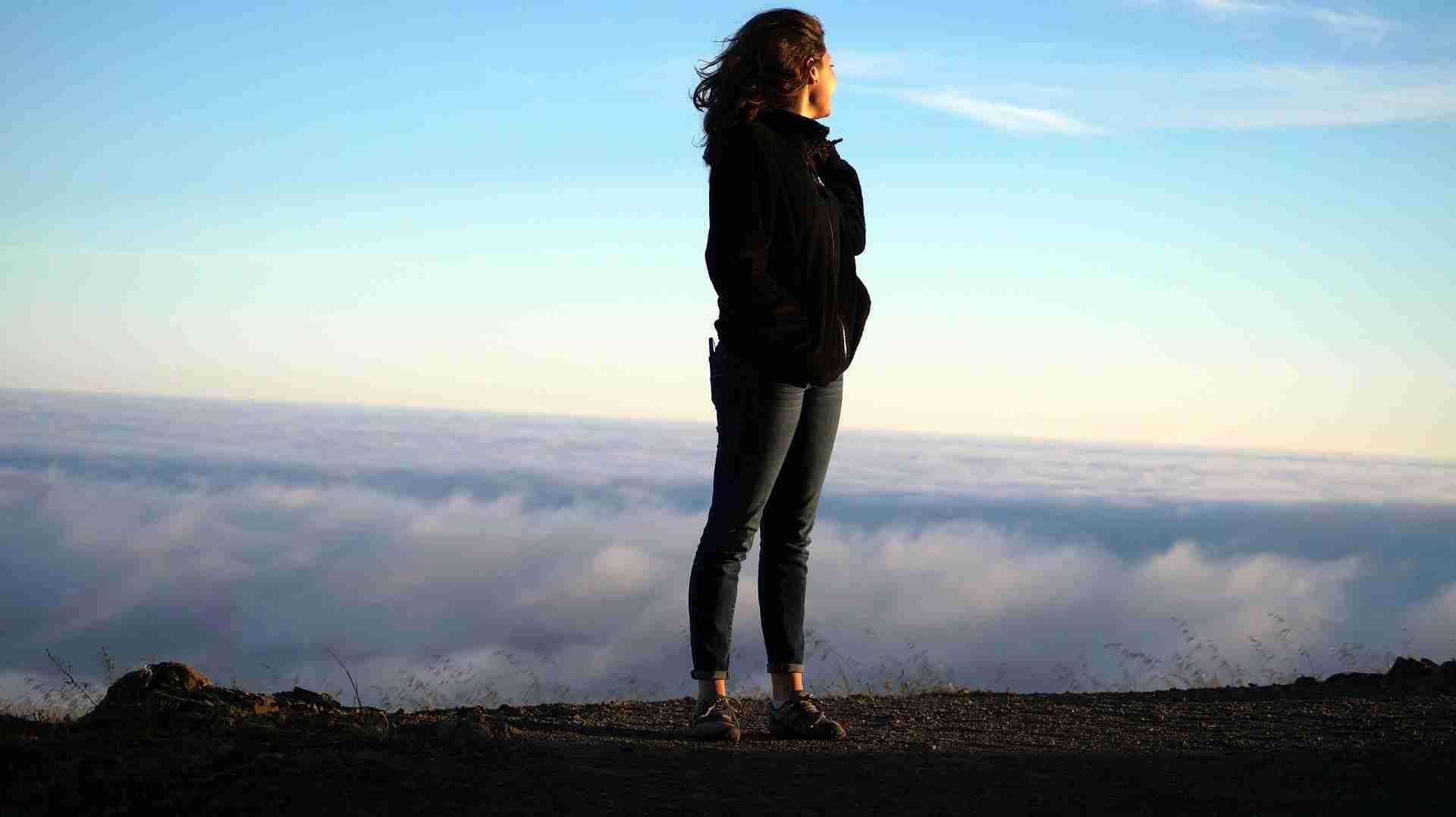 Facing loneliness (c) KarinSieger.com